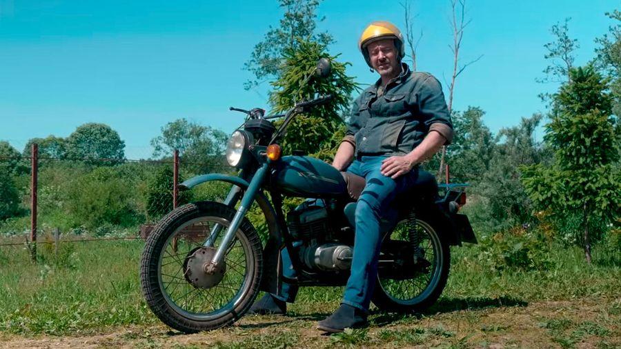 В Подмосковье нашли мотоцикл Минск-125 с минимальным пробегом