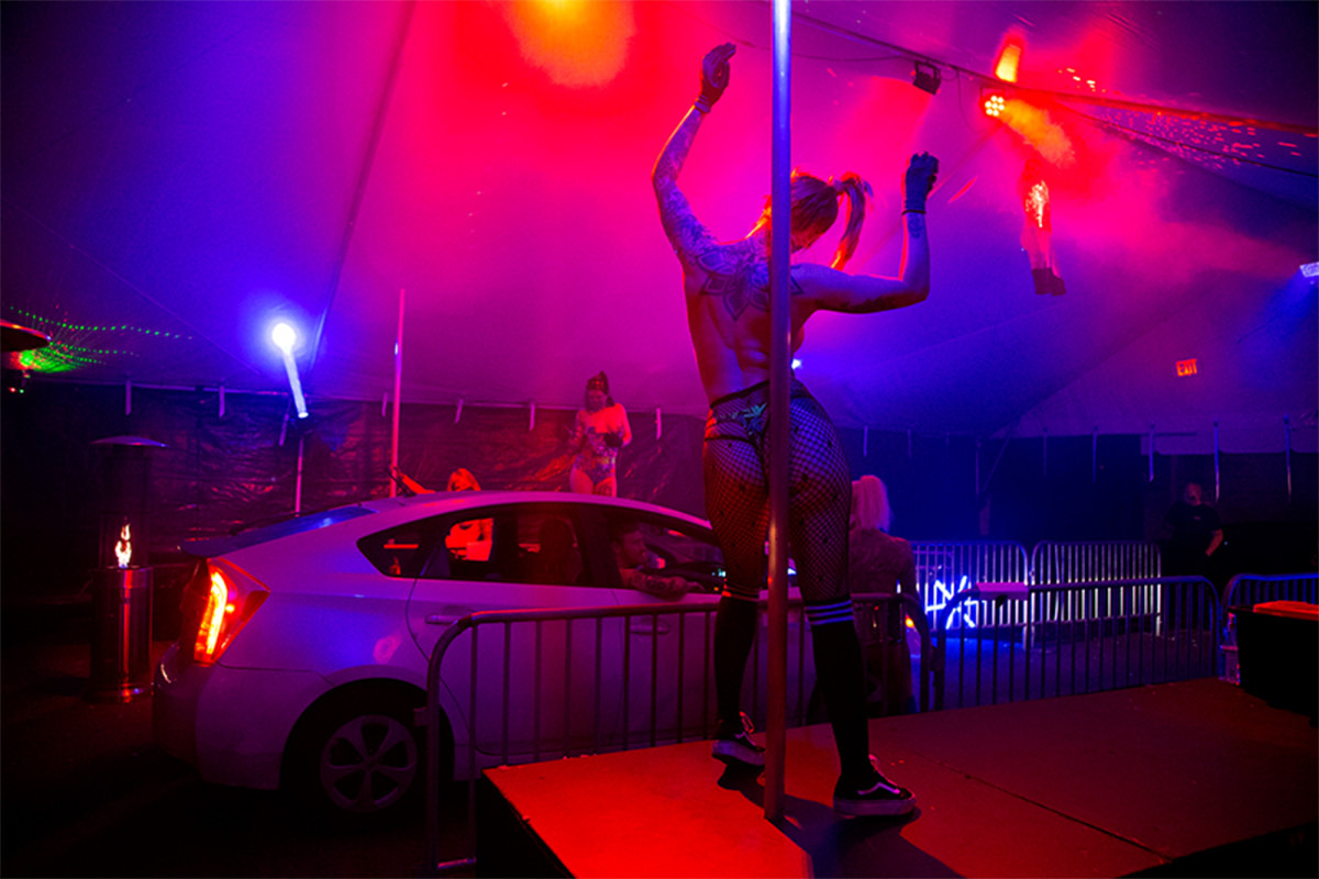 Two kokomo strip clubs get visit