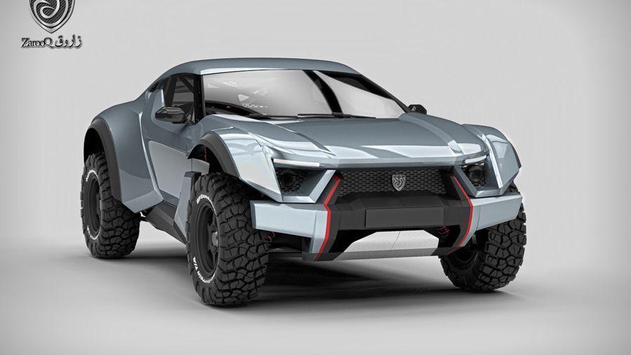 Внедорожный спорткар Zarooq Motors Sand Racer создан для покорения пустынь