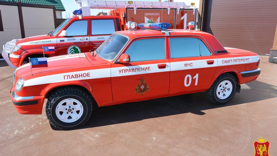 Редкую версию «Волги» ГАЗ-311055 подготовили для пожарной охраны