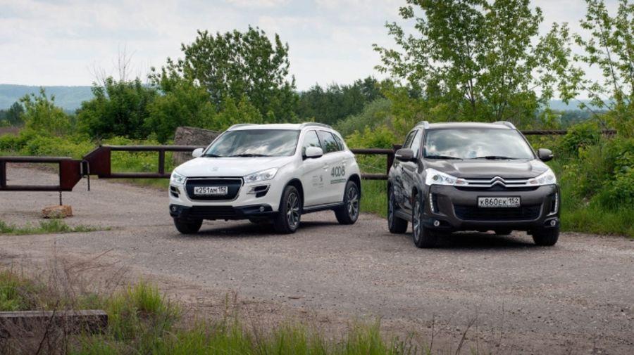 Тест-драйв Peugeot 4008 и Citroen C4 Aircross - Красота спасет мир!