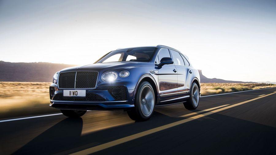 Обновленный Bentley Bentayga Speed сохранил звание самого быстрого в мире кроссовера