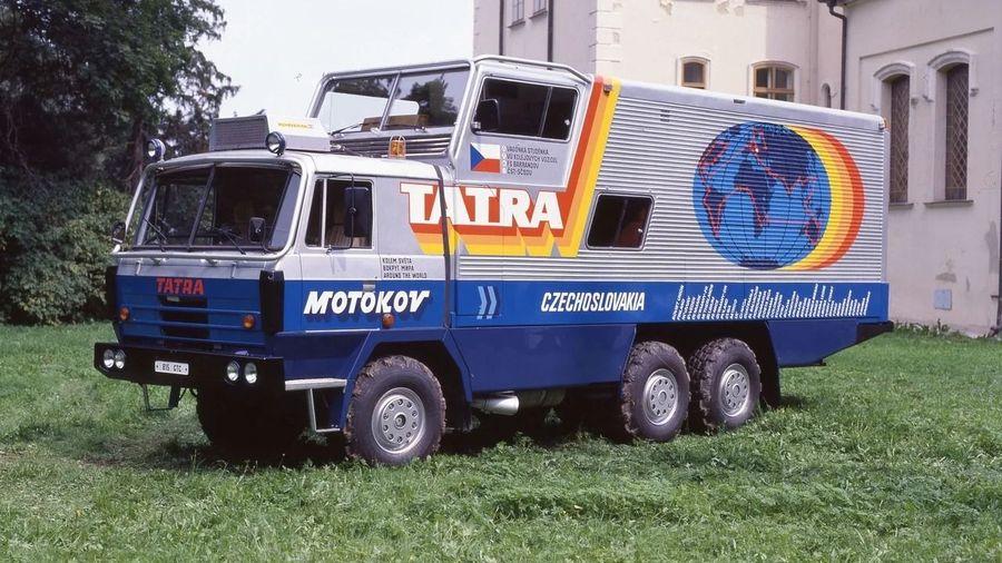 Уникальный грузовик Tatra 815 GTC, который проекхал 6 континентов и 67 стран