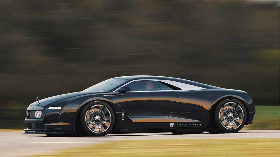 Так мог бы выглядеть суперкар марки Rolls-Royce