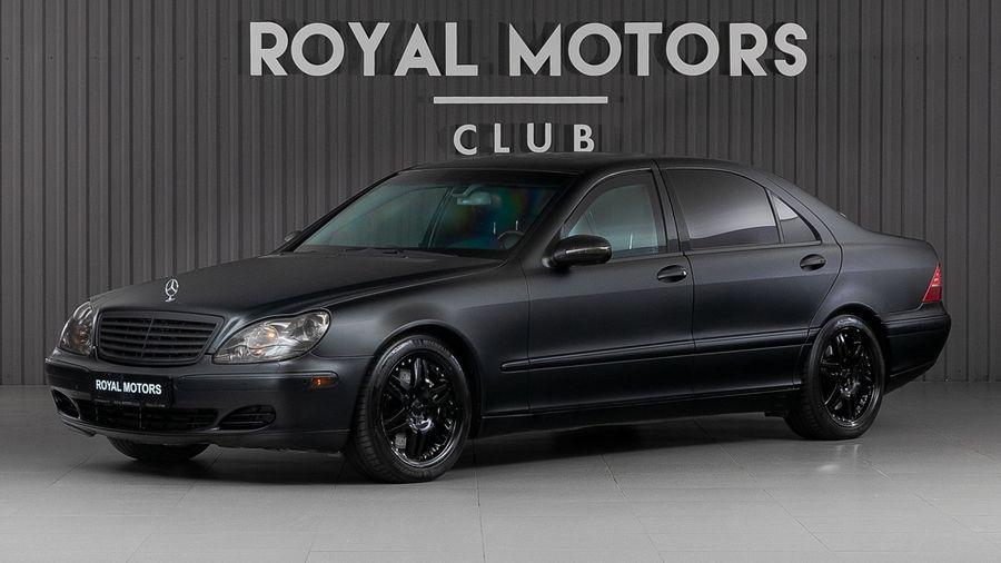 В Москве продают Mercedes-Benz S600 со скрытым бронированием всего по цене кроссовера