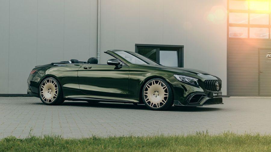 Brabus и Fostla постарались превратить Mercedes-AMG S63 Cabriolet в роскошный Maybach