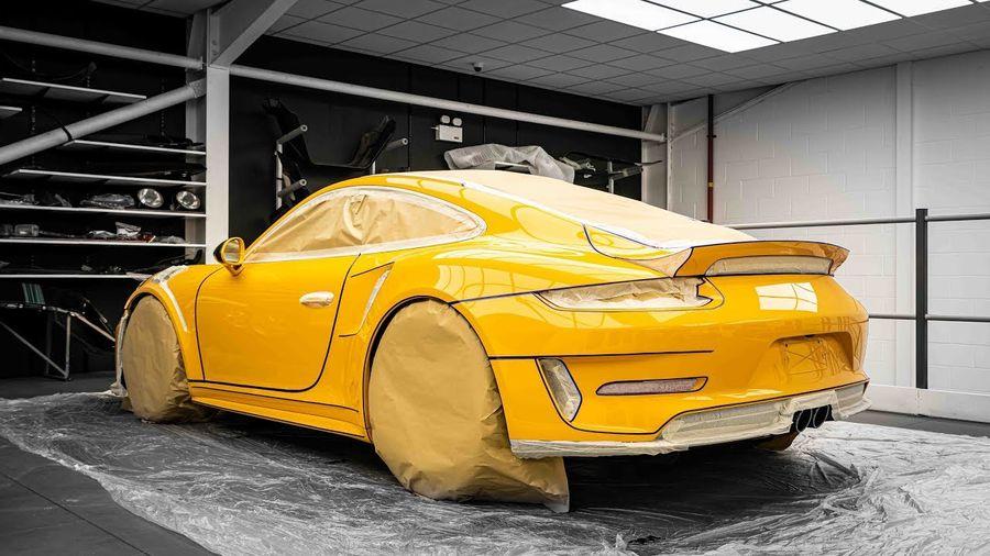 Посмотрите на детейлинг Porsche 911 GT3 RS, который длился 100 часов