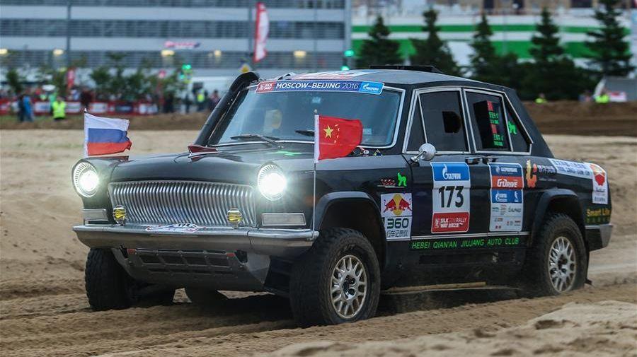Китайцы вывели на Дакар 2020 три правительственных лимузина