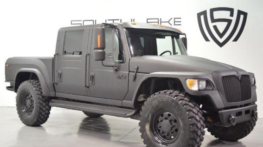 Внедорожник-грузовик для брутальных бородатых мужиков