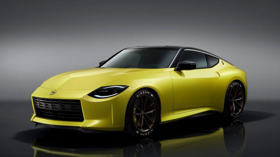 Nissan Z Proto анонсировал будущую серийную модель в ретро-стиле