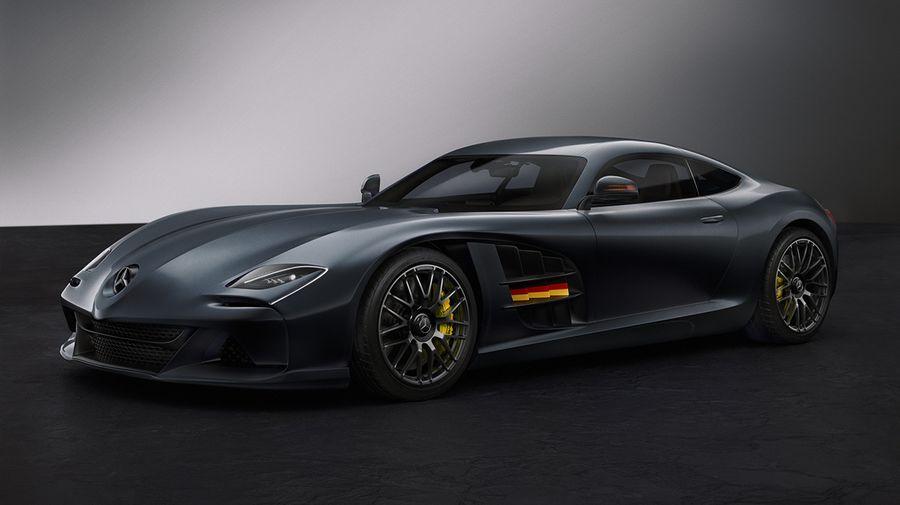 Mercedes SLR-AMG Concept Design намекнул о преемнике SLR McLaren, которого не будет