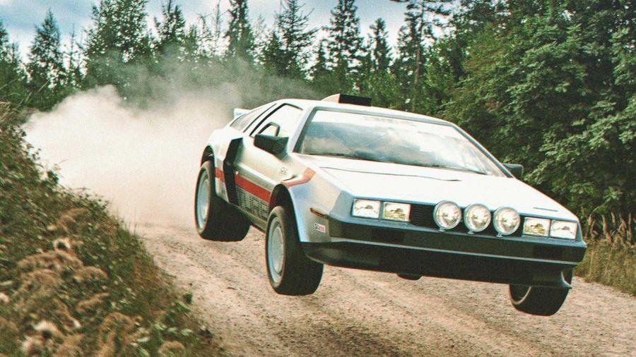 Таким мог бы стать раллийный DeLorean DMC-12 с турбомотором