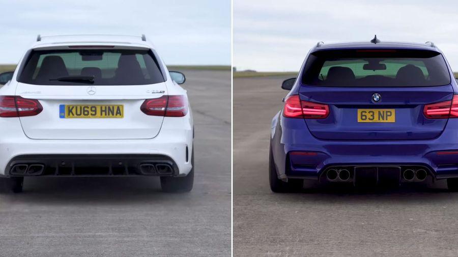 Построенный фанатом BMW M3 Touring сразился с Mercedes-AMG C63 S Estate