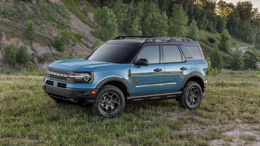 Ford Bronco Sport получил множество внедорожных функций в компактном корпусе
