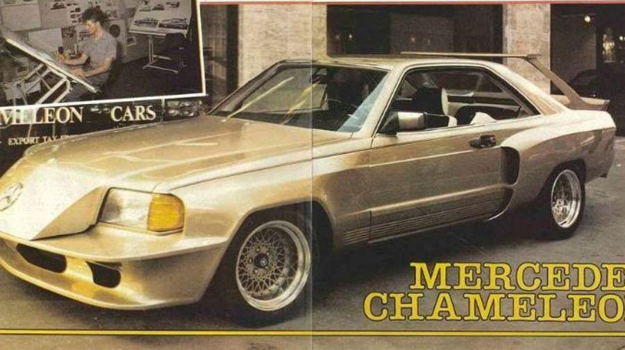Страшные и ужасные автомобили Mercedes-Benz английского ателье Chameleon