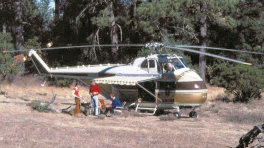 Winnebago Heli-Home — уникальный вертолет-кемпер с ванной комнатой и душем