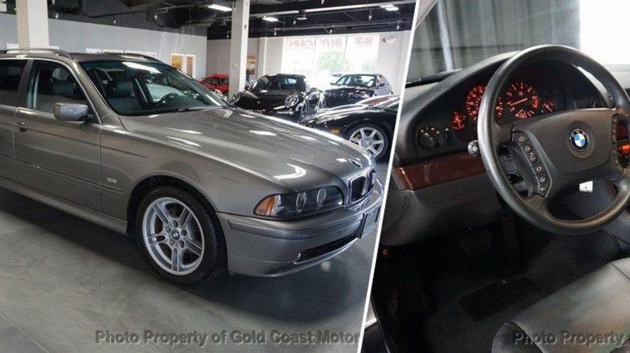 Капсула времени: BMW 525i Touring 2003 года с пробегом всего 22 тысячи километров
