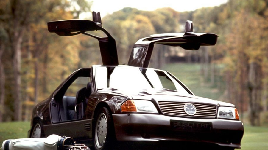 34 необычные версии Mercedes-Benz W124. Энциклопедия Мерседес W124: тюнинг, прототипы, специальные версии