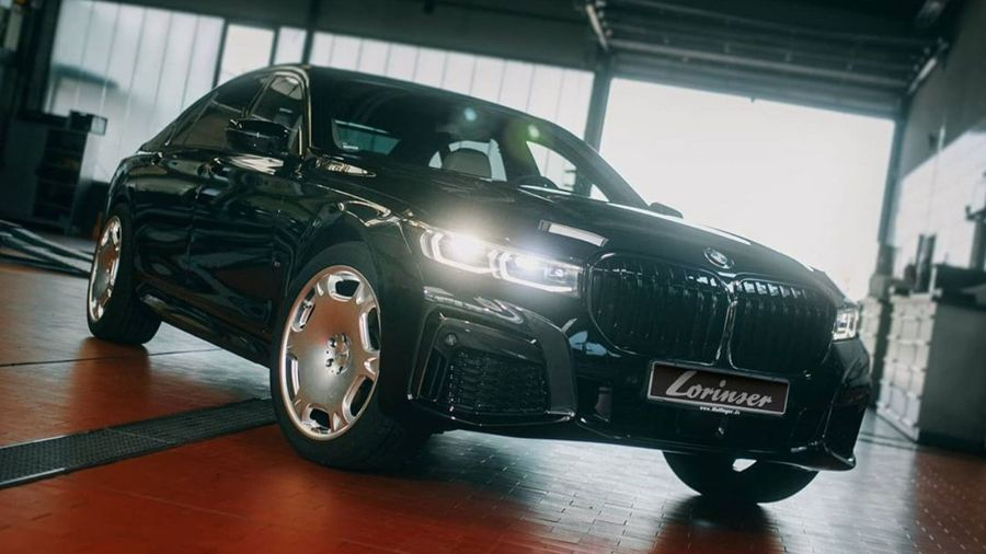 Lorinser примерил фирменные «мерседесовские» колеса на BMW. Это шутка?