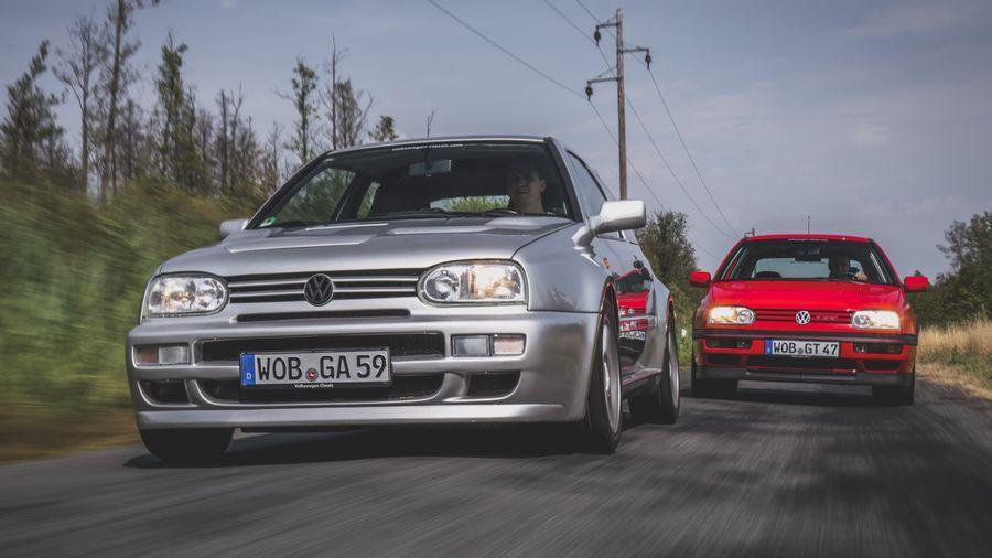 Volkswagen Golf A59, который должен был стать соперником Lancia и Mitsubishi на этапах WRC