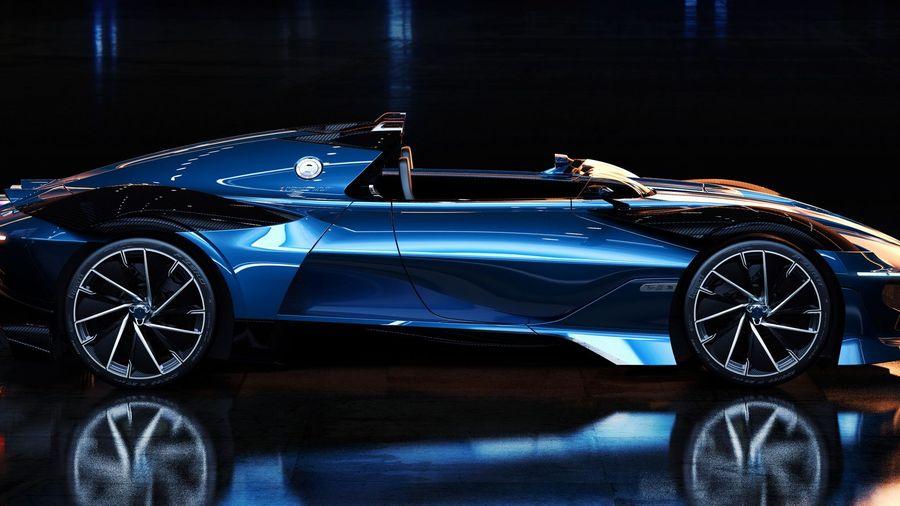 Bugatti Type 251 Evo Concept выглядит идеальным спидстером для улиц Монако и гоночного трека