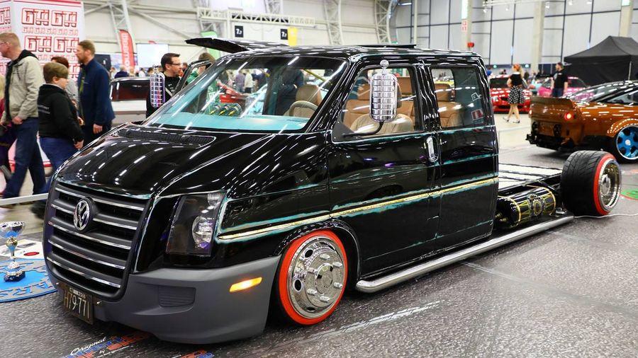 Финны заменили «лицо» Volkswagen Transporter и установили пневмоподвеску