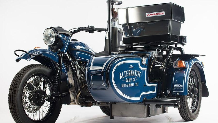 В Австралии сделали мобильную кофейню из «Урала» с коляской