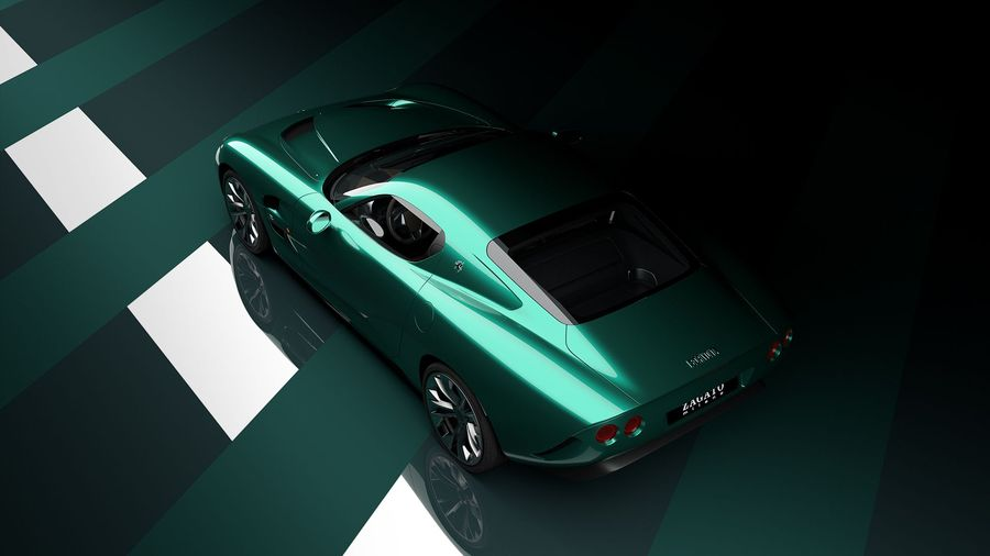Zagato возрождает марку Iso с ретро-купе, оснащенным V8 от Corvette