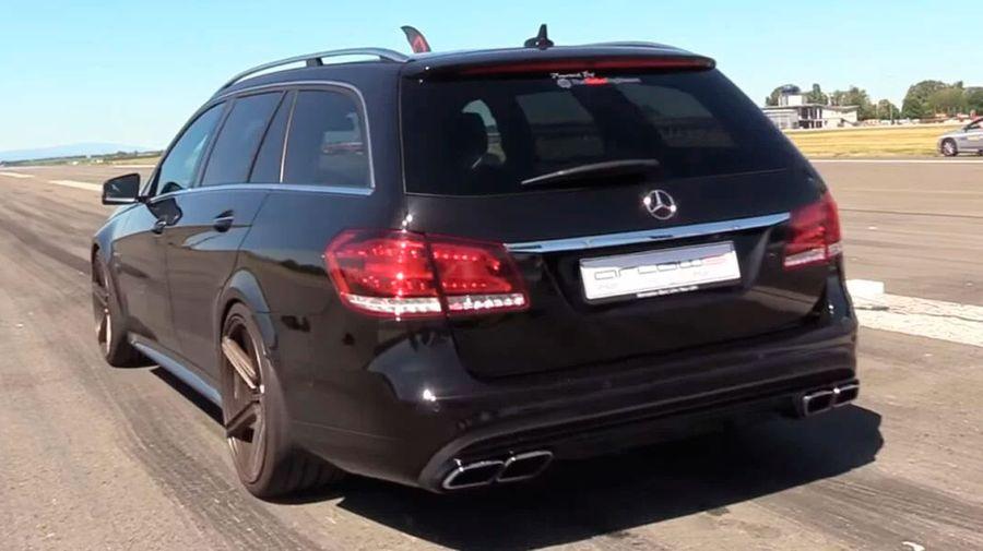 900-сильный Mercedes-AMG E63 Estate вызовет у вас звуковой экстаз