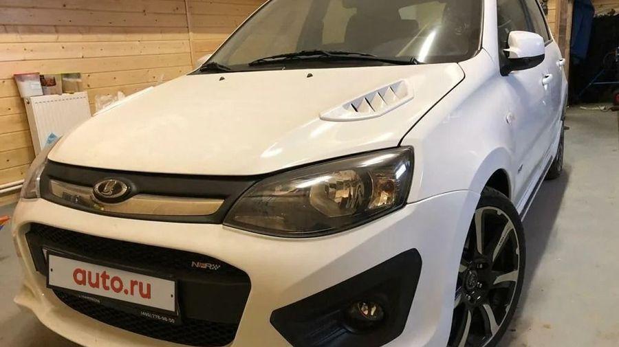 В Москве продают редчайшую Lada Kalina NFR 2015 года за 1,5 миллиона рублей