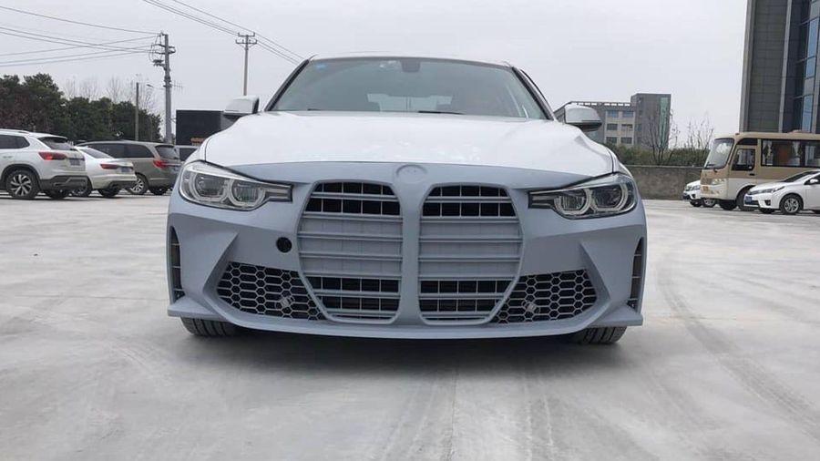 Случилось страшное: этот передний бампер превращает ваш красивый BMW F30 в уродливый G22