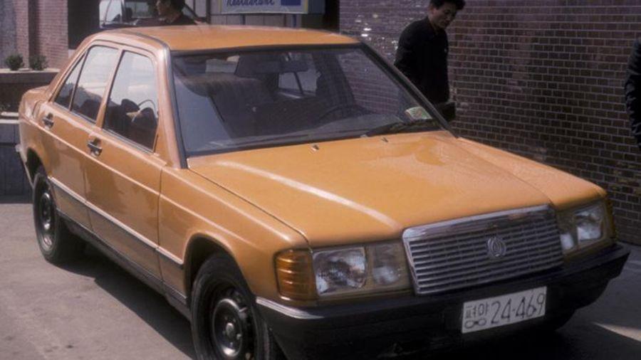 Неизвестная история автомобилей Mercedes-Benz 190E W201 из Северной Кореи