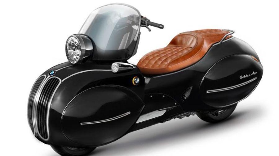 Компания Nmoto превратила скутер BMW в стильный кастом с ретро-стилем