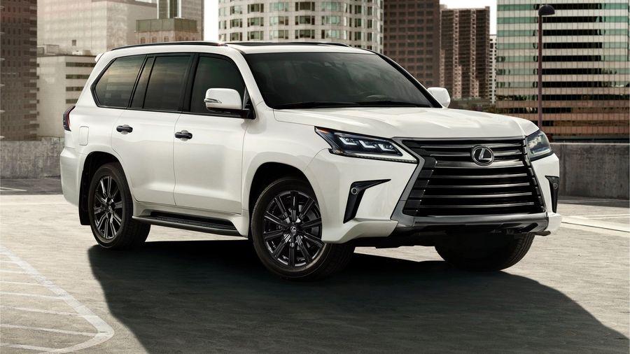 Lexus LX получил ограниченную серию Inspiration для рынка США