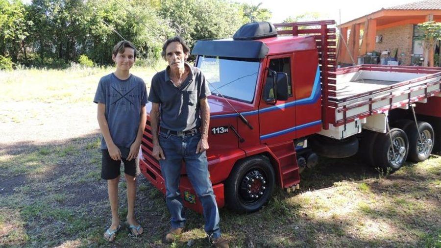 Бразилец создал копию грузовика Scania с расходом топлива всего 8 л на 100 км