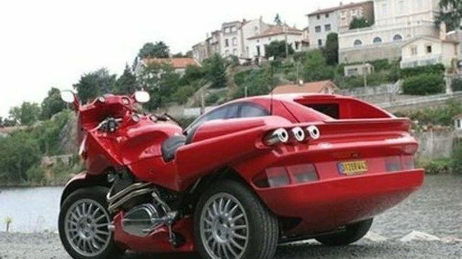 11 необычных мотоциклов: байк с мотором от Dodge Viper, мотоцикл-автомобиль и другие