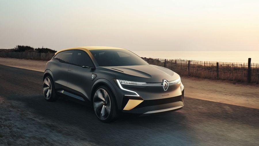 Renault Megane eVision Concept анонсировал будущий серийный электрохэтчбек
