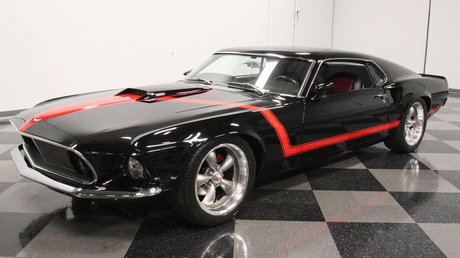 Заметили что-то необычное у этого Ford Mustang Fastback 1969 года?