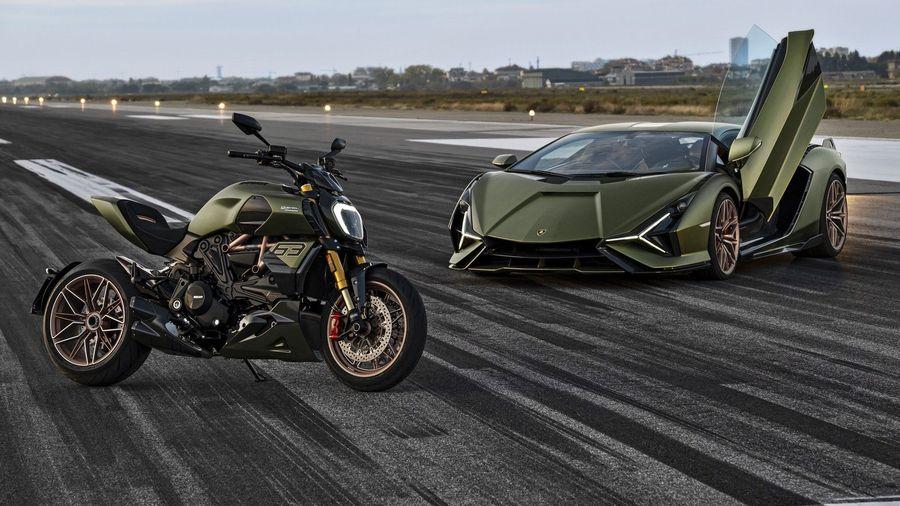 Ducati представила ограниченную серию Diavel 1260 Lamborghini, вдохновленную суперкаром