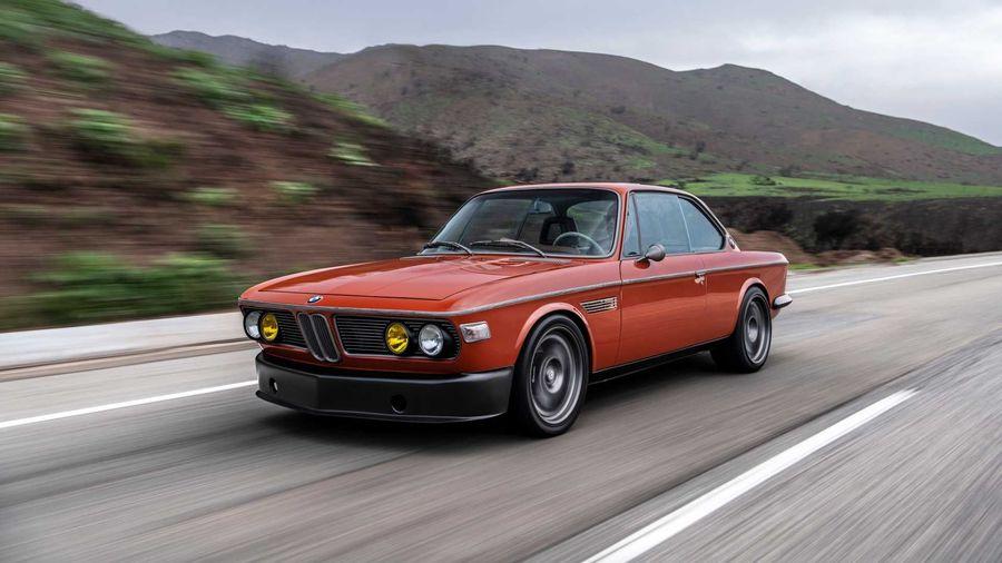 Новая игрушка «Железного Человека» — рестомод BMW 3.0 CS