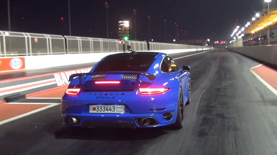 Посмотрите на Porsche 911 Turbo S, который разгоняется до 100 км/ч за 1,9 секунды