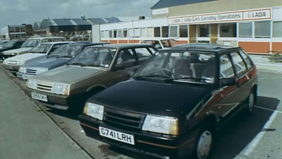 «Лады в Англии» — фильм 1990 года о том, как наши Лады продавались в Великобритании