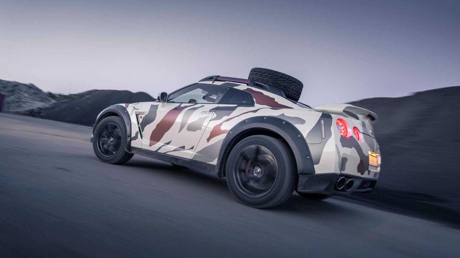 600-сильный Nissan GT-R подготовили для покорения бездорожья