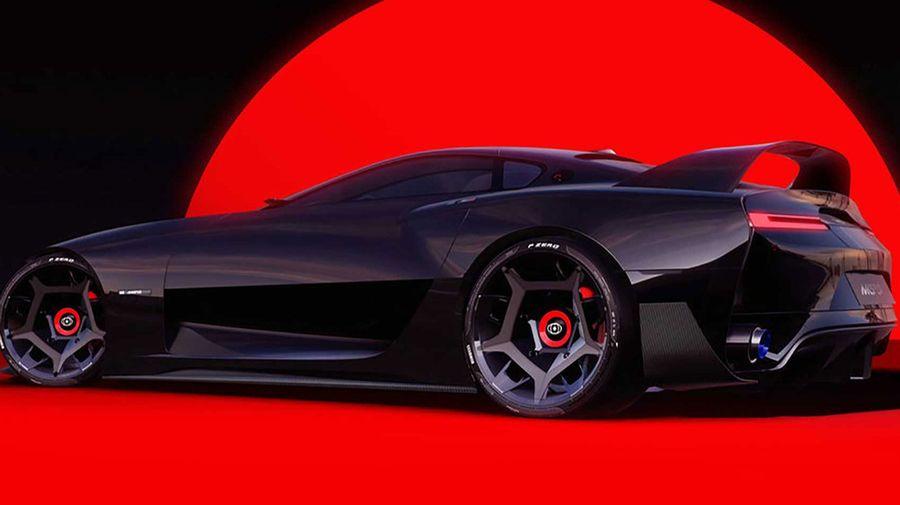 Такой бы стала Toyota Supra 5-го поколения, если бы победили дизайнеры, а не маркетологи