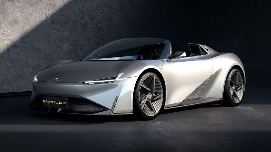 Электрический суперкар GAC Enpulse позволит посоревноваться с виртуальными гонщиками на реальных треках