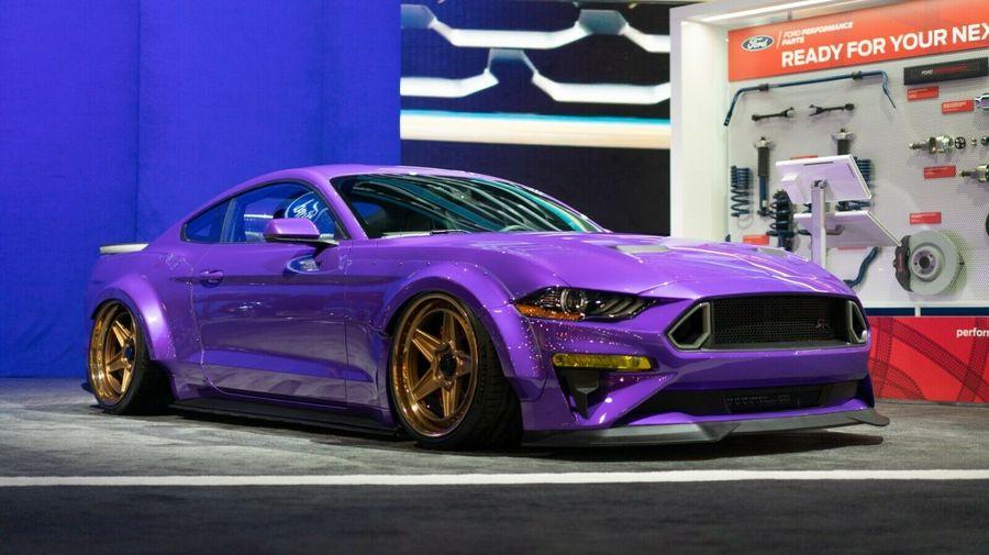 На продажу выставили модифицированный Ford Mustang, подготовленный для SEMA