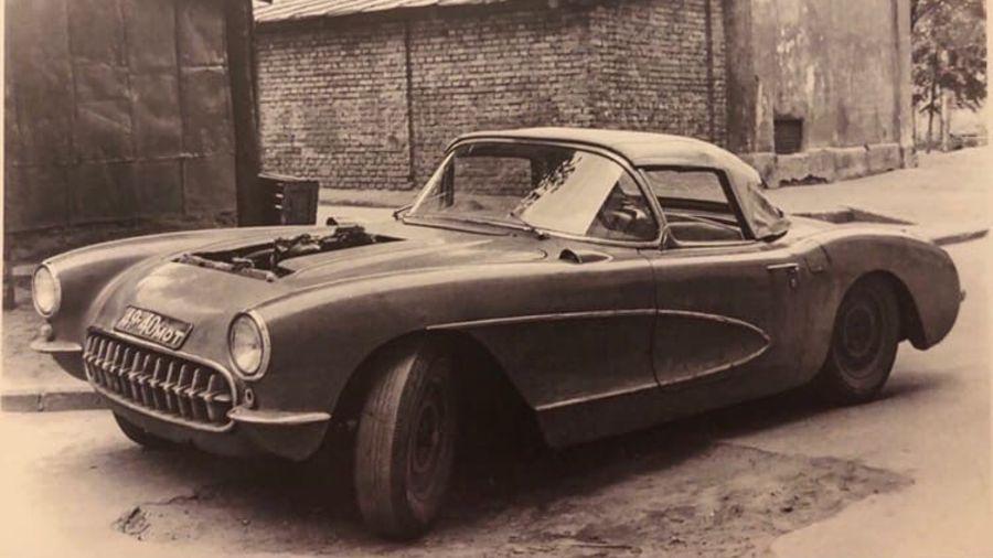Единственный Chevrolet Corvette с двигателем от «Чайки», принадлежащий советскому каскадеру