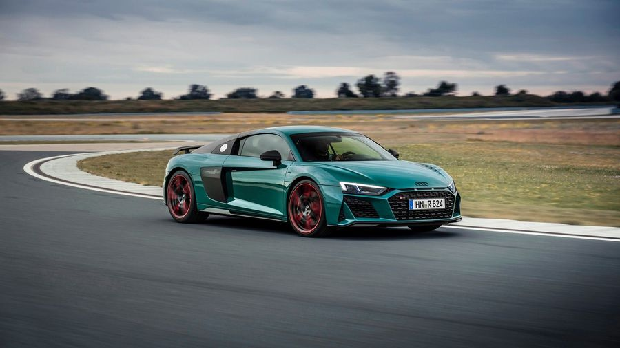 Audi выпустит ограниченную серию R8 Green Hell в честь гоночного R8 LMS