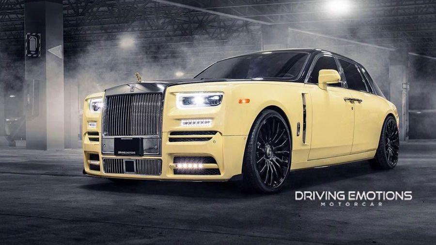Рэпер Дрейк оснастил свой Rolls-Royce Phantom фигуркой совы из золота и бриллиантов