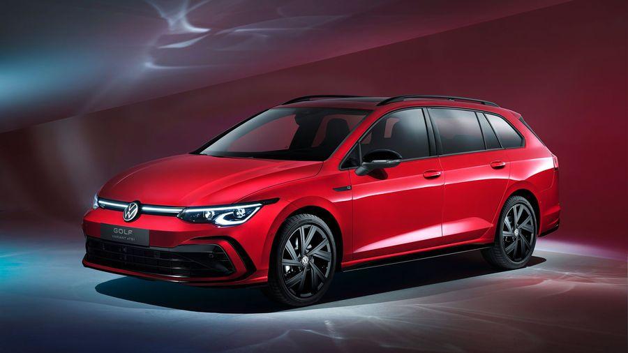 Универсалы Volkswagen Golf Variant и Alltrack пополнили семейство нового Golf 8